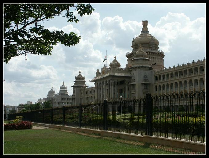 Left view of Vidhana Soudha