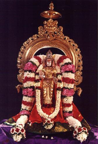 Main idol of Sri Vasavi Kanyaka Parameswari