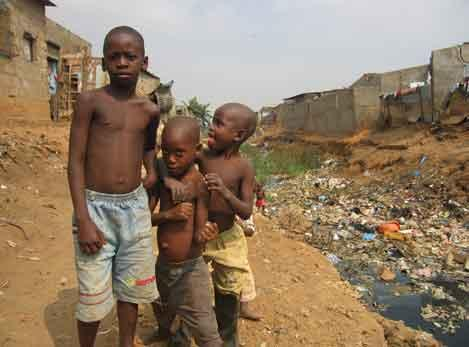 Poverty struck Children
