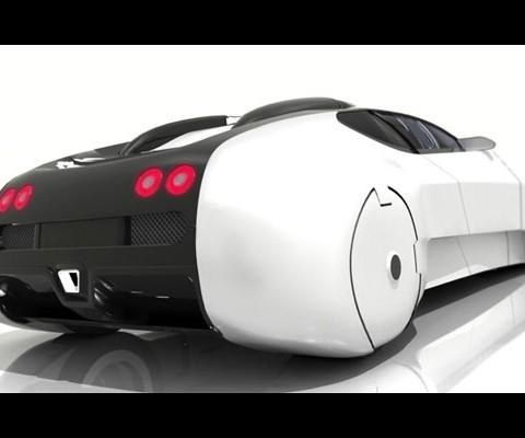 Halo Interceptor- A car that runs on air, water and land.
