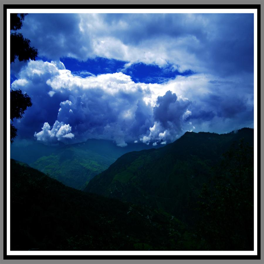 View from Tungnath