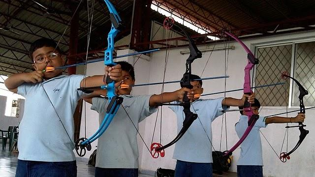 Keen Interest in Archery found in children.