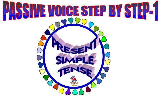 PASSIVE VOICE-SIMPLE PRESENT TENSE-1