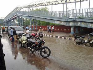 Delhi rain stopped Delhi