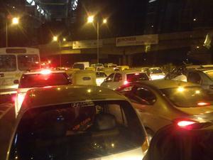 Delhi rain effected traffic till night
