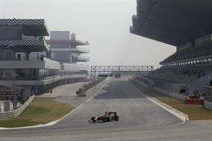 Buddh International Track for Indian F1 race 2011