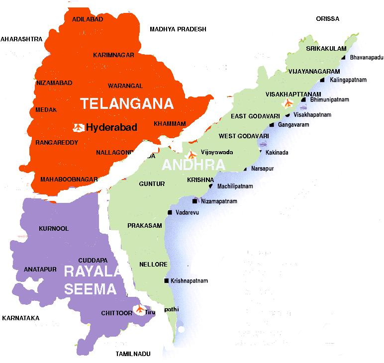 Separation of Andhra Pradesh