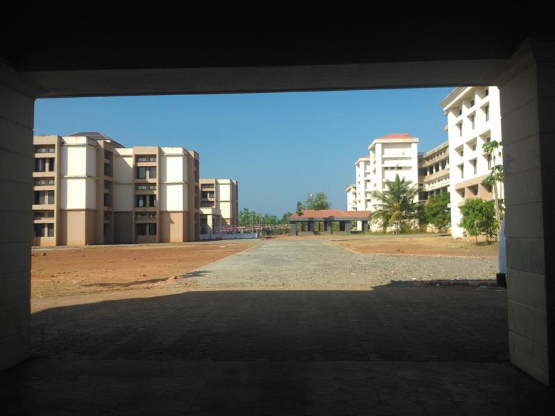 Department block of SNGCET- view from the canteen