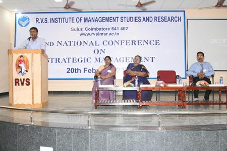 Second national conference on statergic management