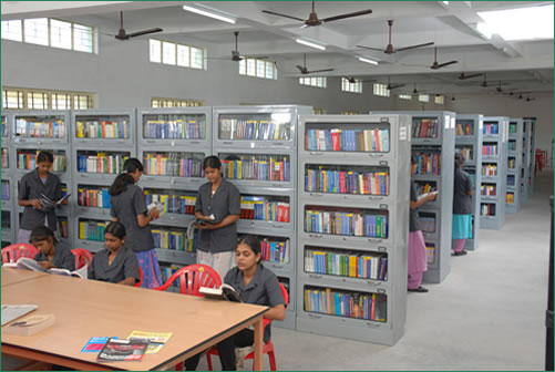 Library of V.S.B. Engineering College, Karur