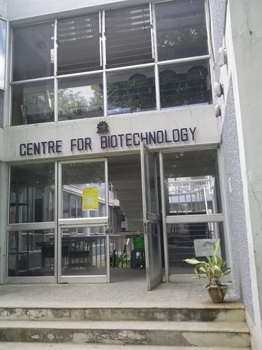 Center for biotechnology in  College of Engineering, Anna University