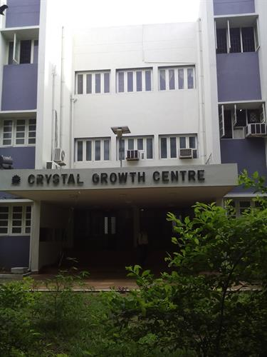 Crystal growth center in  Anna University