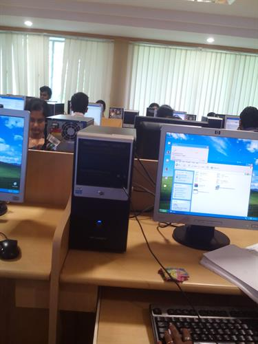Computer laboratory of CEG, Anna University