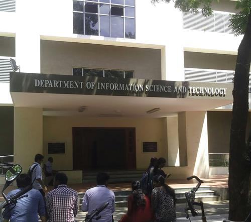 Information Science Technology department of Anna University