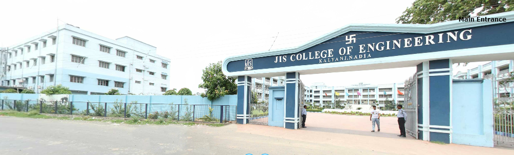 Main entrance of JIS College Of Engineering