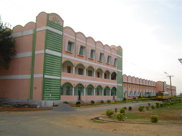 Photo of mechanical building