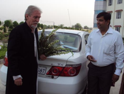 Visit of Tom Alter