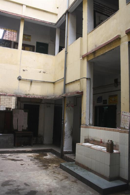 The College inside Building