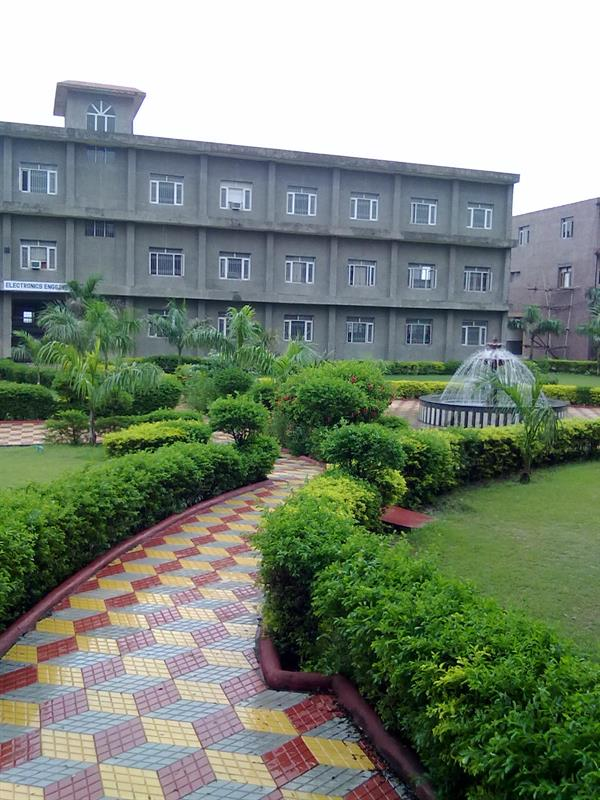 Ground view of Electronics Engineering Department