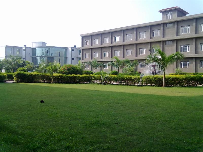 A view of College Library and Electronics Engineering Department