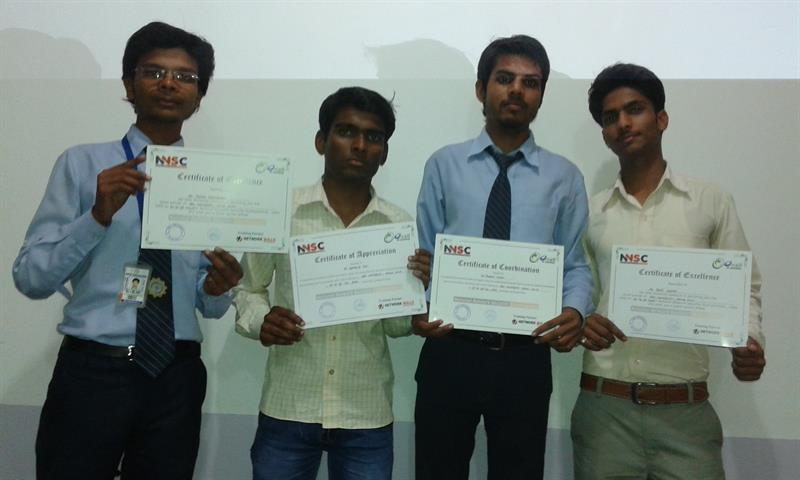 Certificate distribution to students in cloud computing workshop