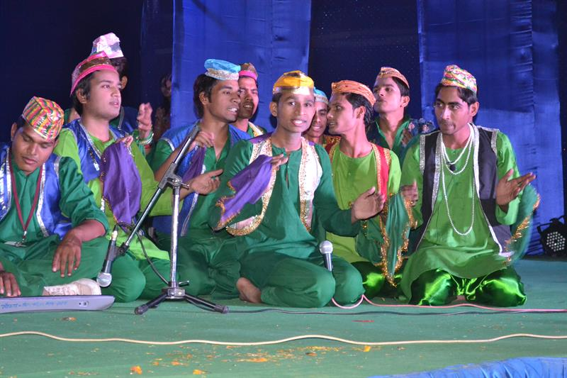 Kawwali in annual function spandan 2013