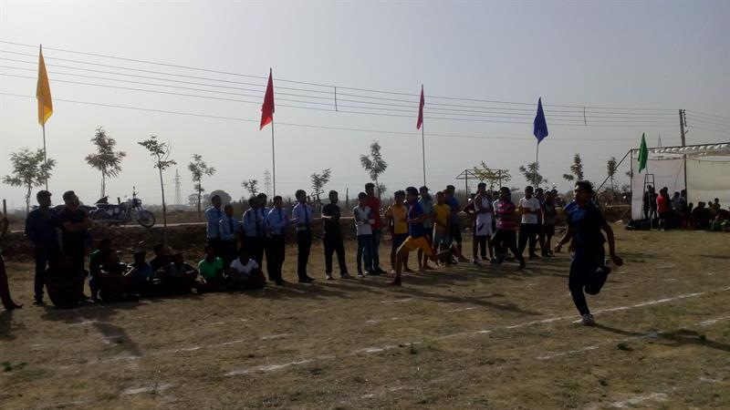 Annual sports event at AKS University, Satna