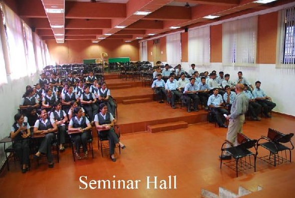 Photo of  seminar hall