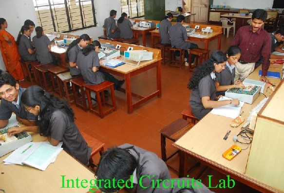 Photo of Integrated circuit Lab