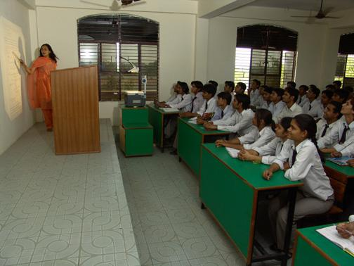 Lecture room at Hi-tech Institute of Engineering & Technology, Ghaziabad