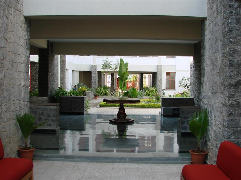 Inside Administrative building
