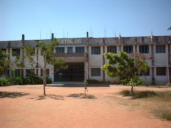 Front view of hostel at Syed Ammal Engineering College