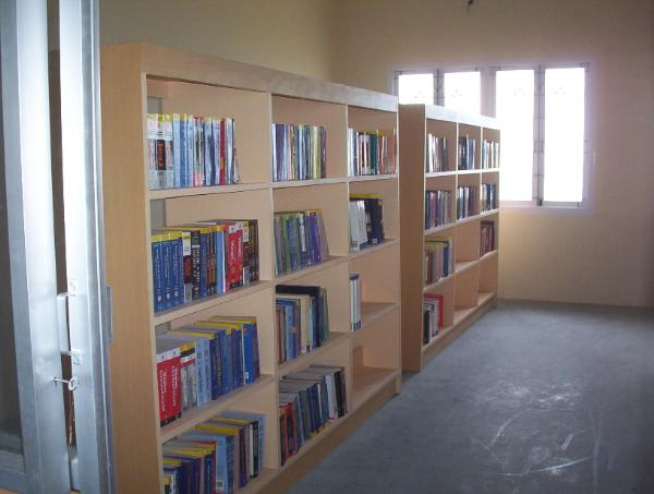 Library at Syed Ammal Engineering College