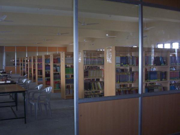 Library of Syed Ammal Engineering College, Ramanathapuram