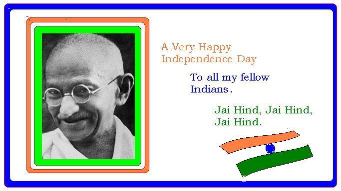 I Day greetings
