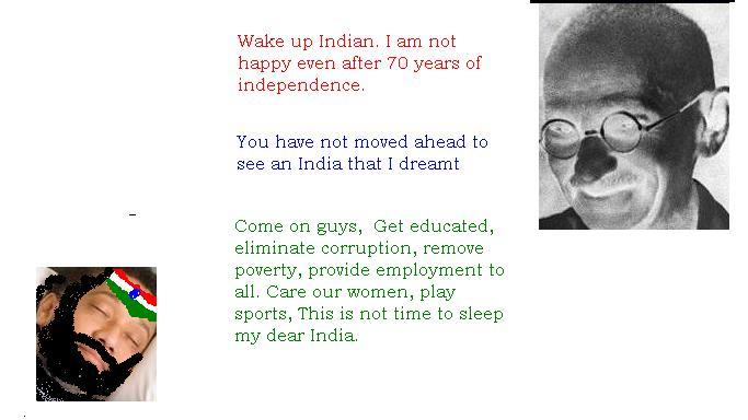 gandhi independence of india