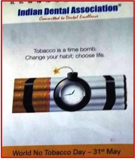 World No Tobacco Day Calendar