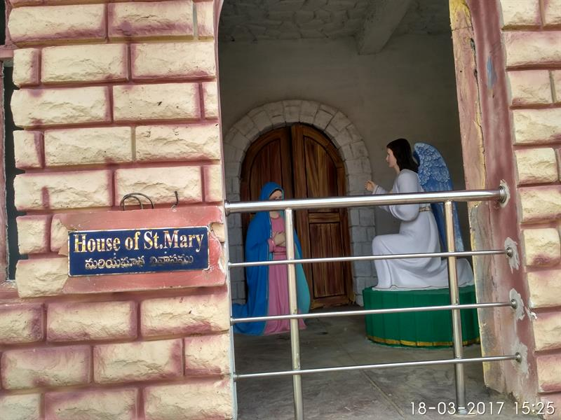 House of St.Mary as seen in Holy Land, Pedakadimi, Eluru, A.P.