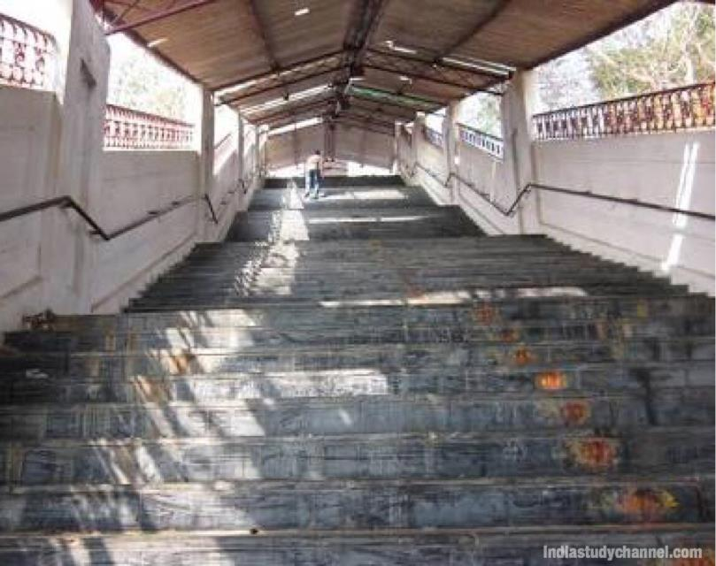 Stairway to Sanghi Temple in Sanghinagar