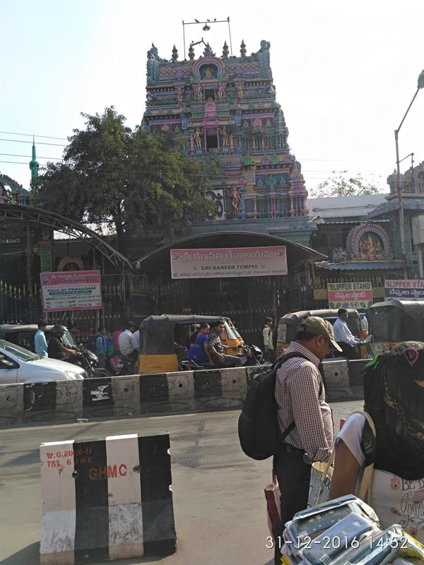 Sri Ganapathi Temple at Secunderabad Railway Station