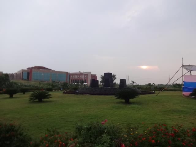 An overview of Bits pilani Hyderabad campus and a beautiful morning sunrise