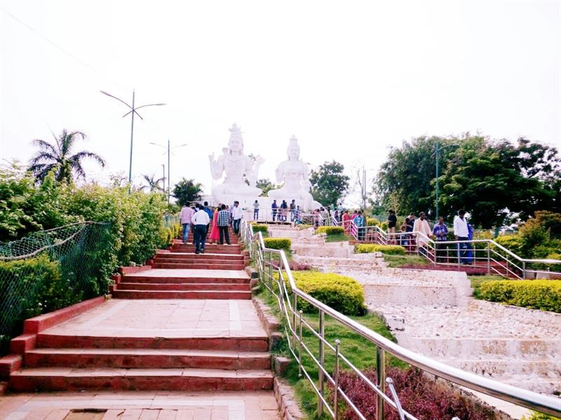 Kailasagiri, a hilltop park in the city of Visakhapatnam.