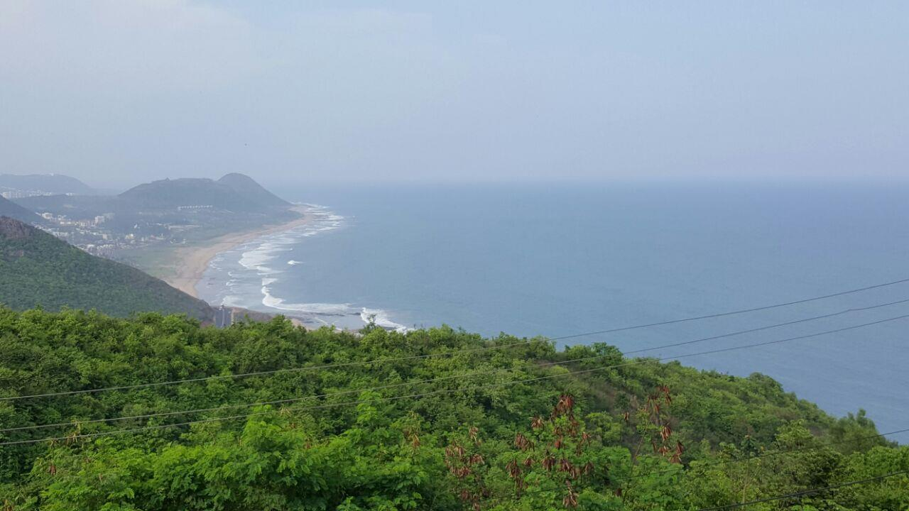 Kailasagiri hill park located in  city of Visakhapatnam.