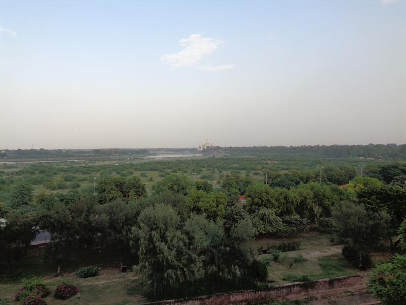 View of Agra City from Agra Fort