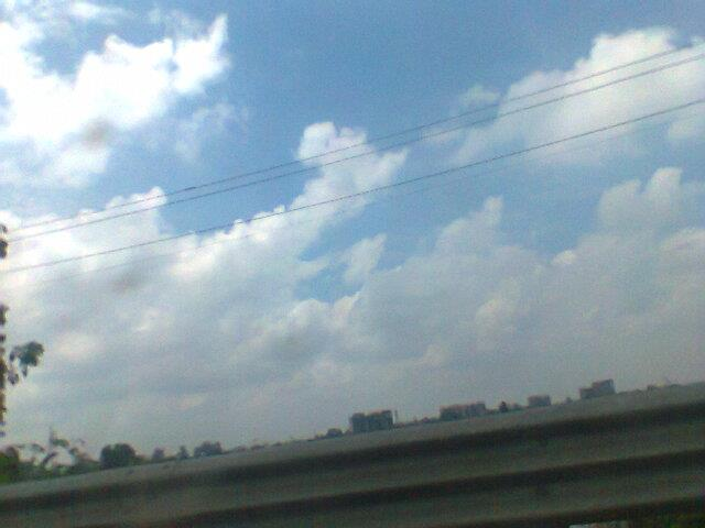 Clouds in Ghaziabad