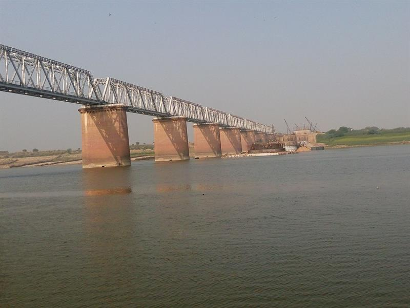 Yamuna bridge- Kalpi