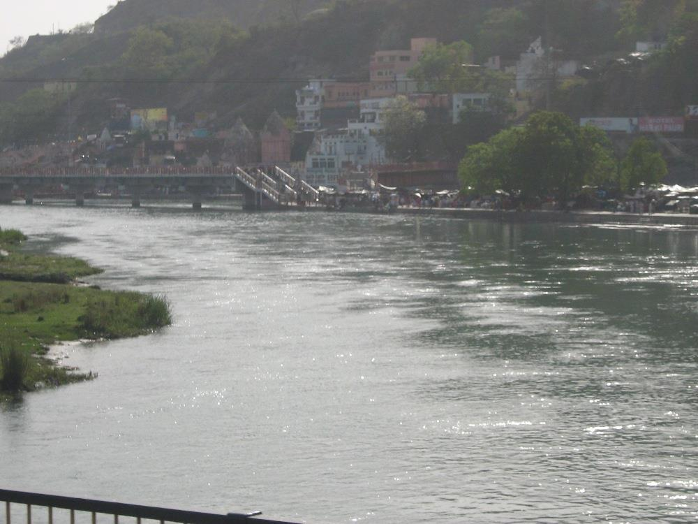Evening view of River Ganga