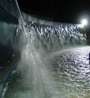 Picture of Water Fountain in Lumbini Park, Hyderabad