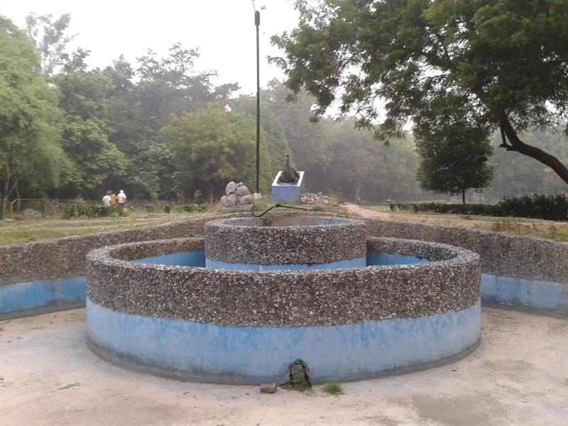 Fountain at Kalyanpur park, Lucknow