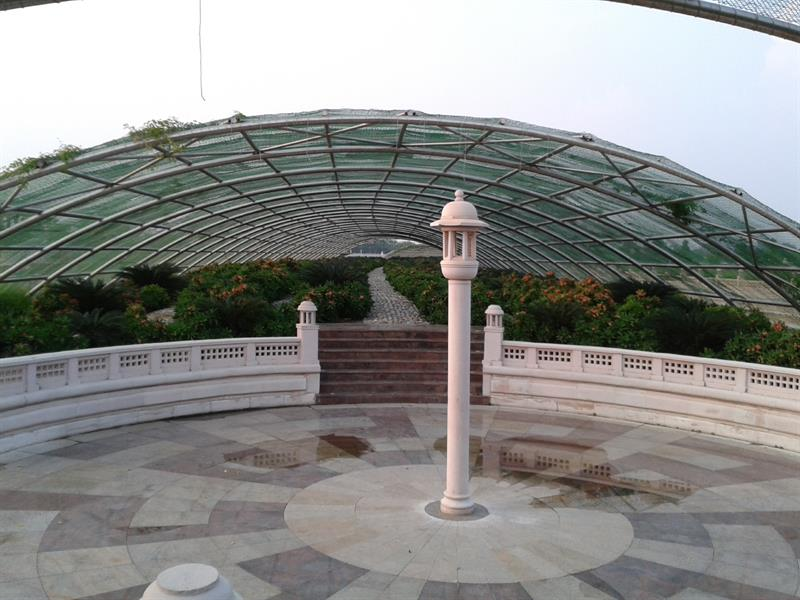 Green house at eco park lucknow